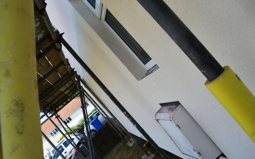 Durring installation on semi detached property 6